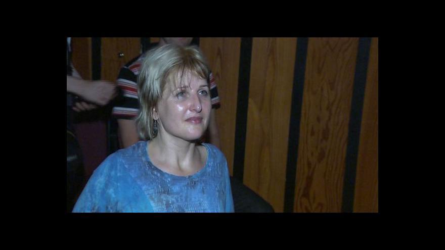 Video Ochrnutá učitelka Hana Volfová