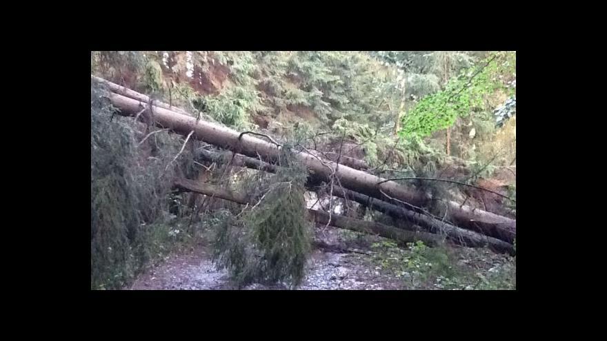 Video NO COMMENT: Tábor ve Studnici ohrožovala silná bouřka