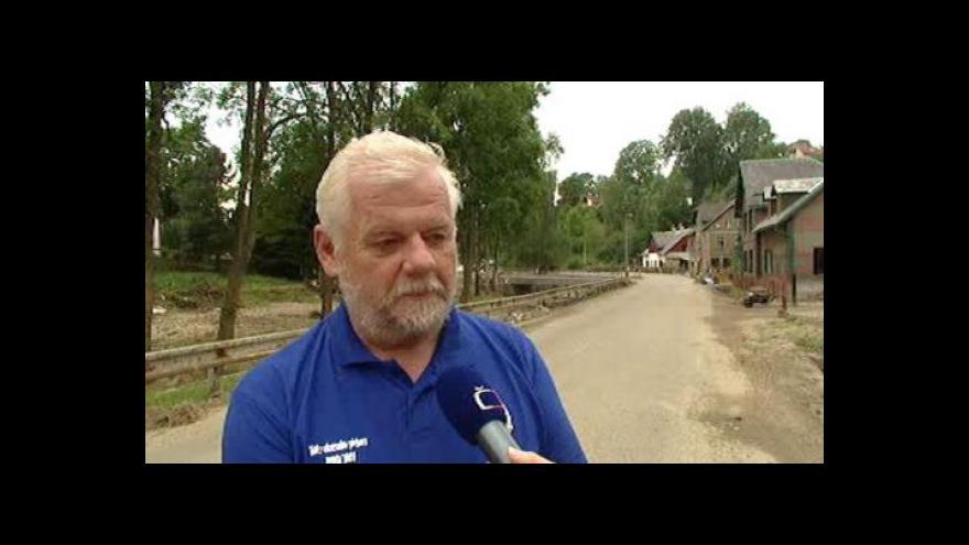 Video Studio ČT24: Rozhovor se starostou Nové Vsi Jaroslavem Müllerem