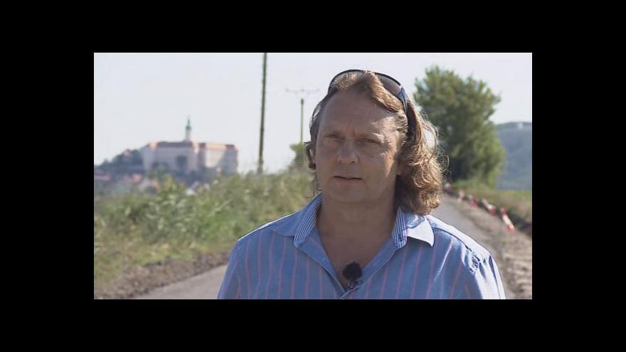 Video Starosta Mikulova Rostislav Koštial o významu cesty