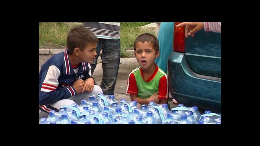 Video Romové z ghetta Přednádraží dobrovolně neodejdou
