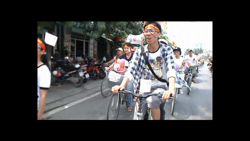 Video Gay Pride poprvé ve Vietnamu