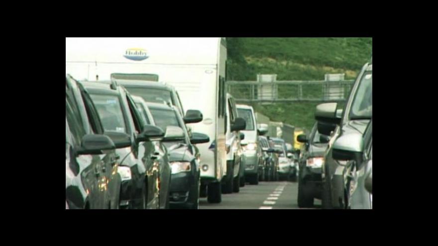 Video Evropské dálnice stojí
