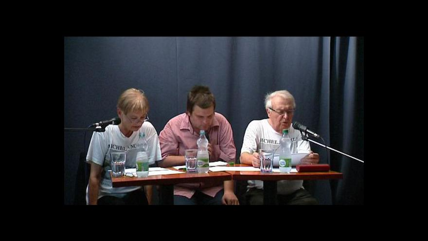Video Reportáž K. Kačmarské o autorském čtení v Ostravě