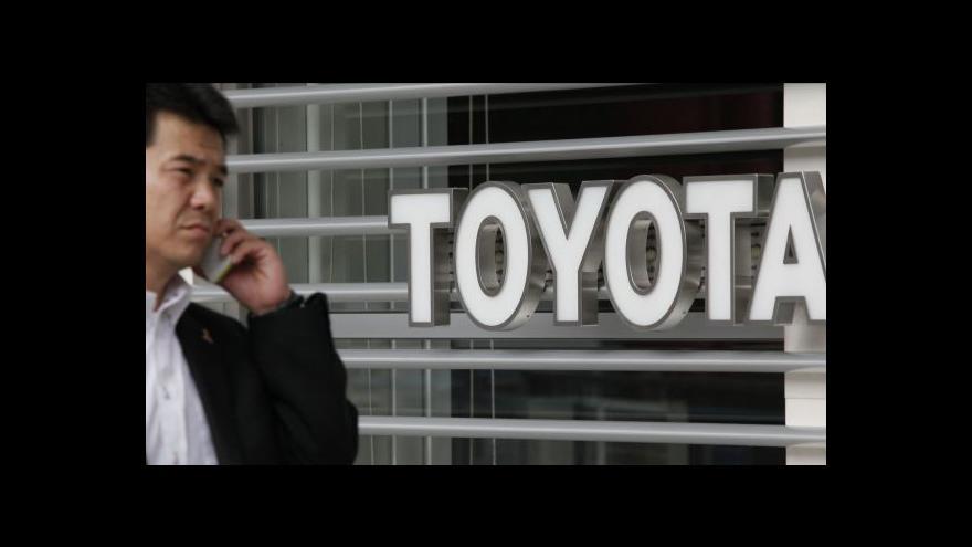Video Toyota překonala krizi a je opět jedničkou v prodeji aut