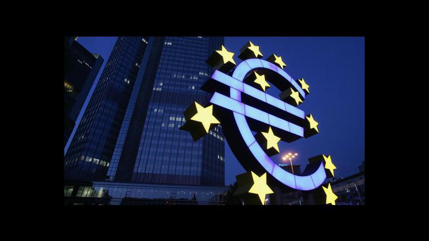 Video Mezinárodní měnový fond kritizuje eurozónu