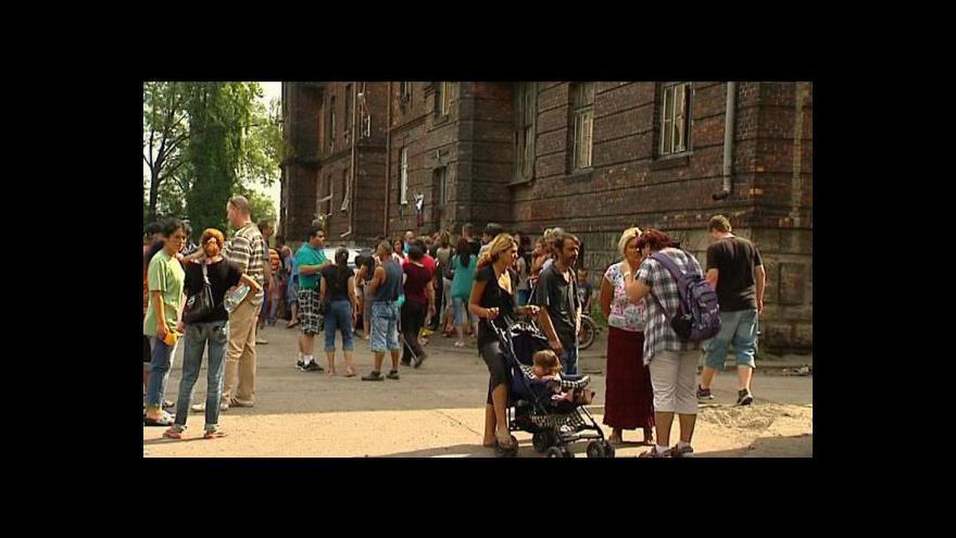 Video Události: Romové se musí z Přednádraží vystěhovat