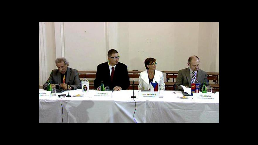 Video Memorandum o obnově zámku v M. Krumlově