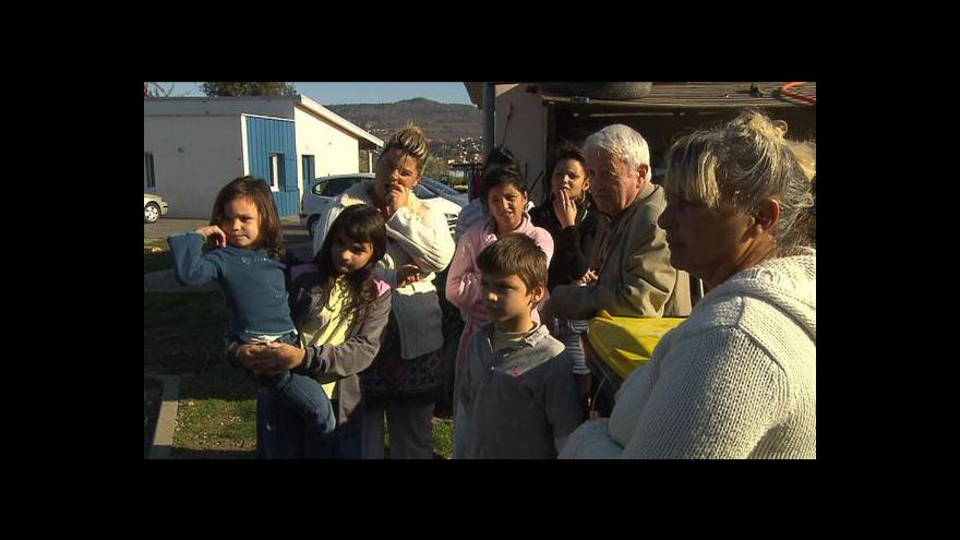 Video Události, komentáře o napětí v ostravském ghettu