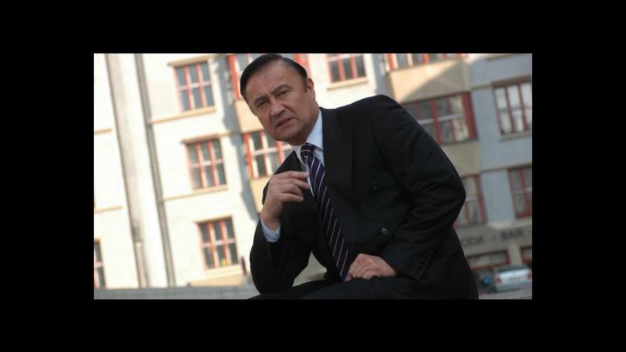 Video Vladimír Dryml a Jiří Dienstbier hosty Událostí, komentářů