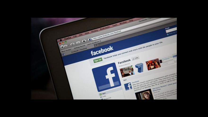 Video Ekonomika ČT24 o akciích Facebooku