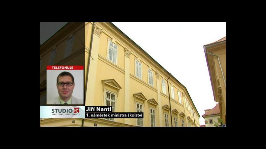 Video Rozhovor s 1. náměstkem Jiřím Nantlem