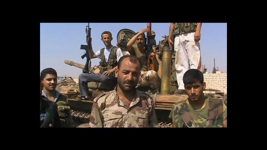 Video Bitva o Halab je klíčová, míní Asad