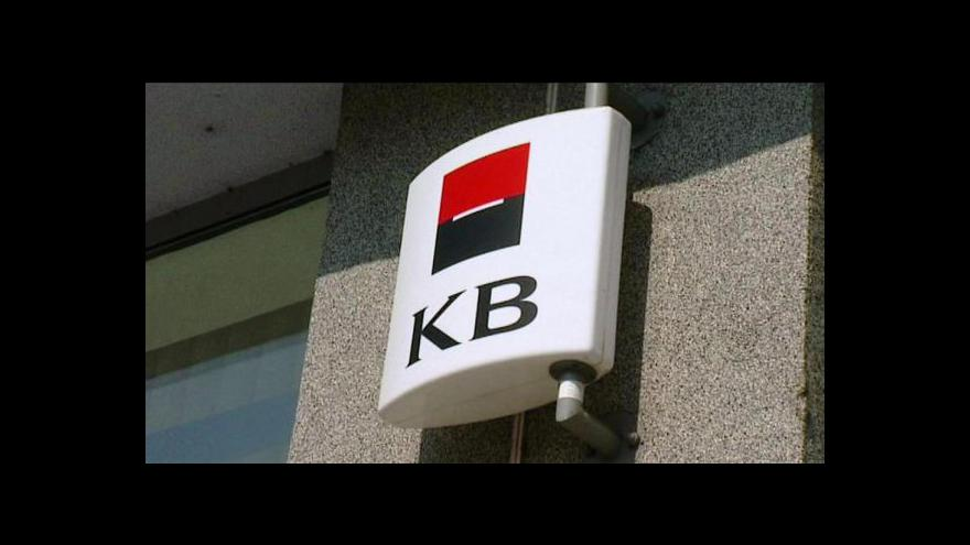 Video Komerční bance vzrostl zisk o 38,8 procenta
