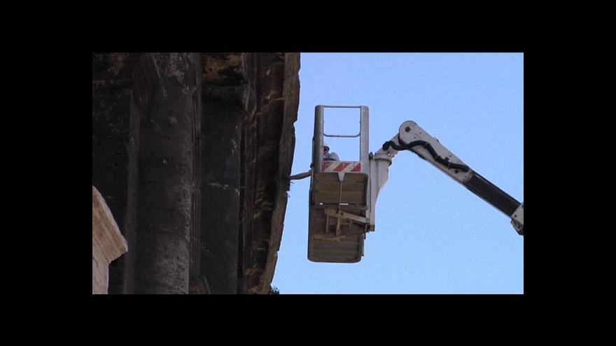 Video Opravy římského Kolosea začnou v listopadu