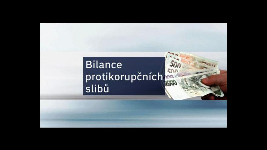 Video Protikorupční postup vlády tématem Událostí