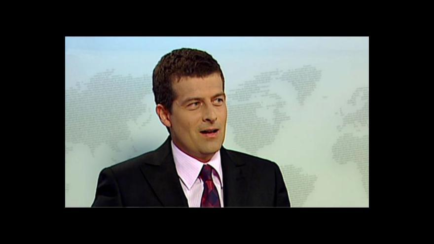 Video Meteorolog ČT Jan Šrámek ve Studiu ČT24