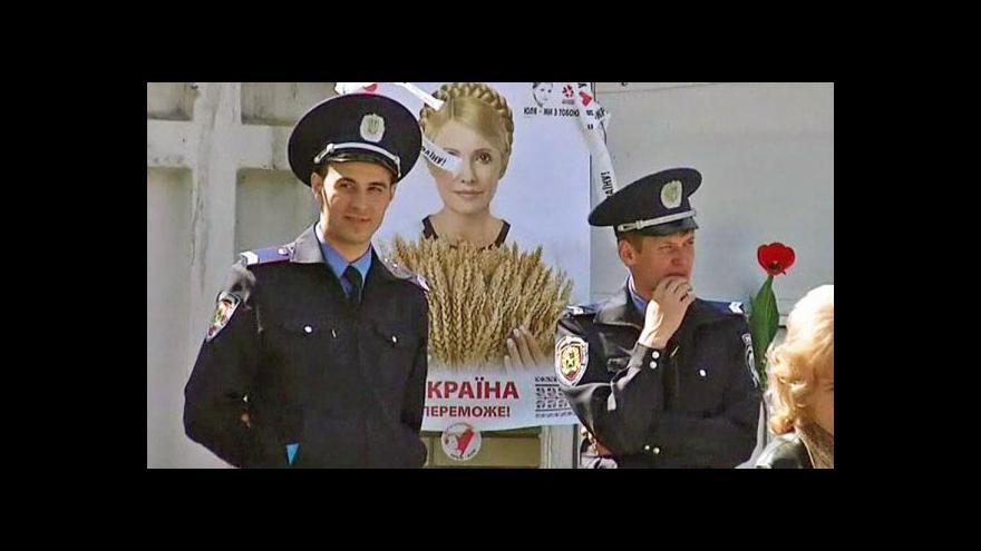 Video V Charkově by měl začít proces s Tymošenkovou