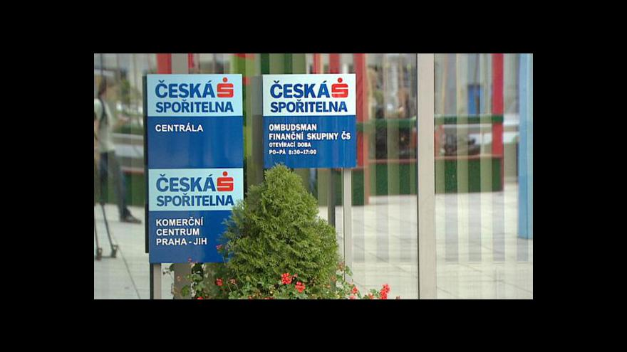 Video Reportáž o České spořitelně