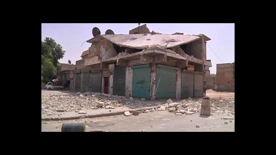 Video Boj o město Halab je zatím vyrovnaný