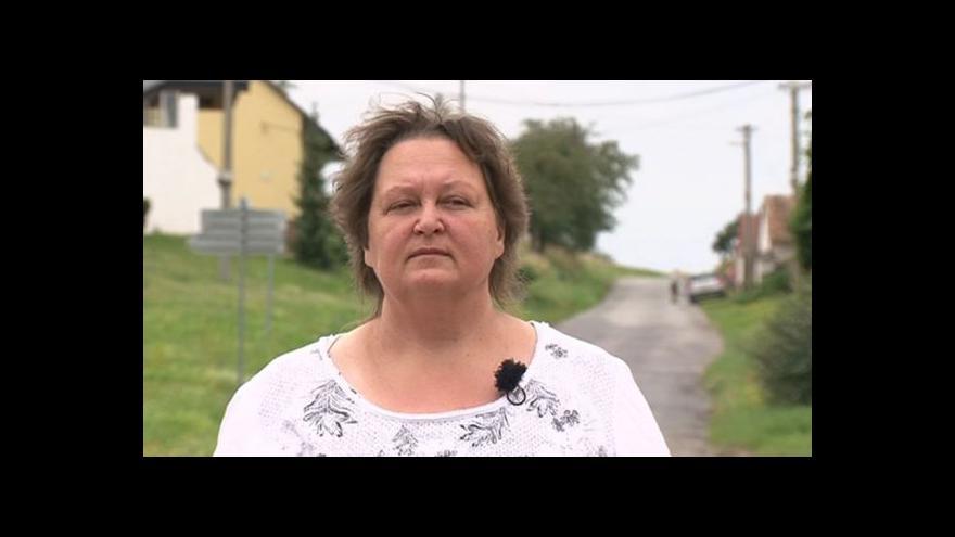 Video Nová starostka Hovězová hovoří o nedávném incidentu