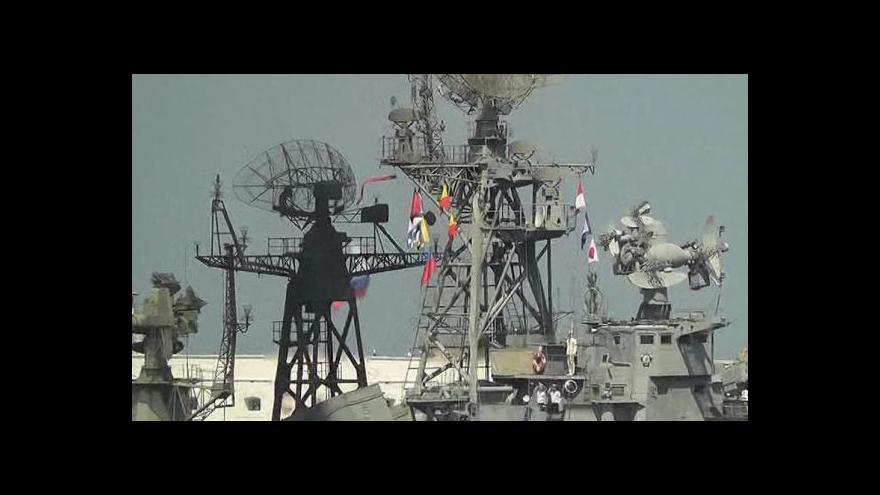 Video Rusko a Ukrajina oslavily den námořnictva
