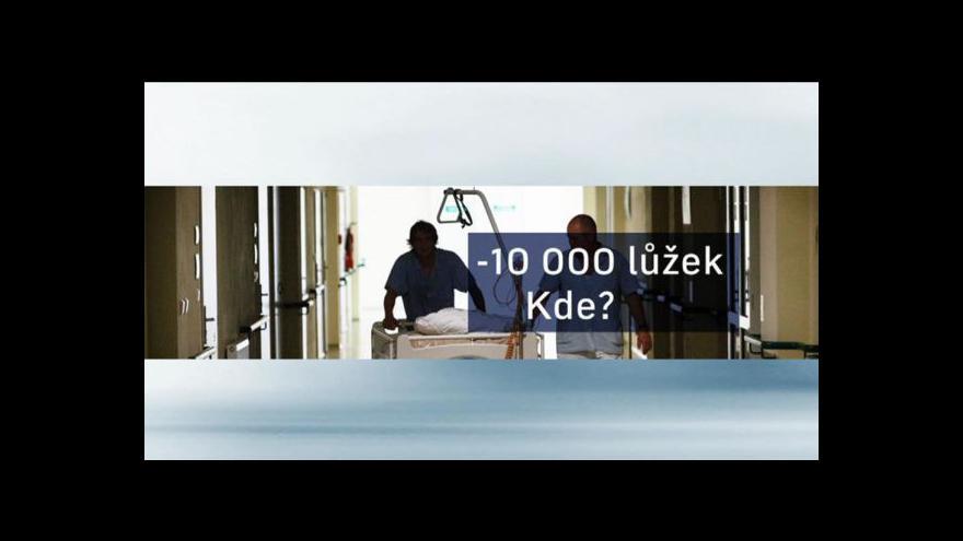 Video Téma Událostí: Rušení nemocničních lůžek