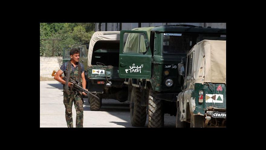 Video Halabem otřásají silné boje