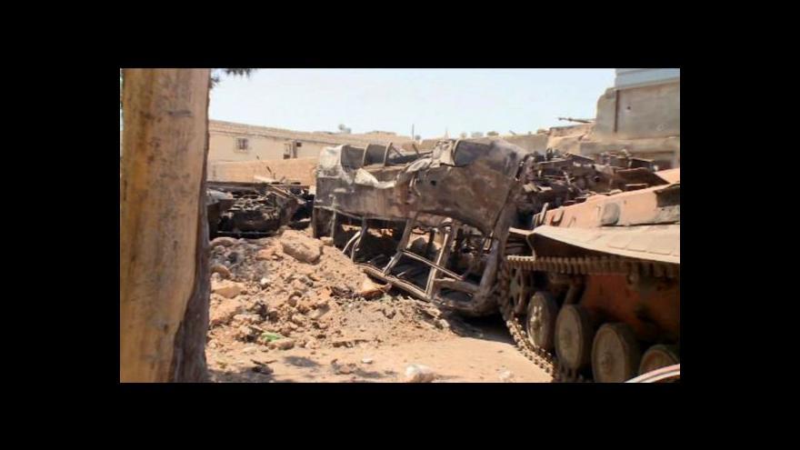 Video V Sýrii se schyluje k matce všech bitev