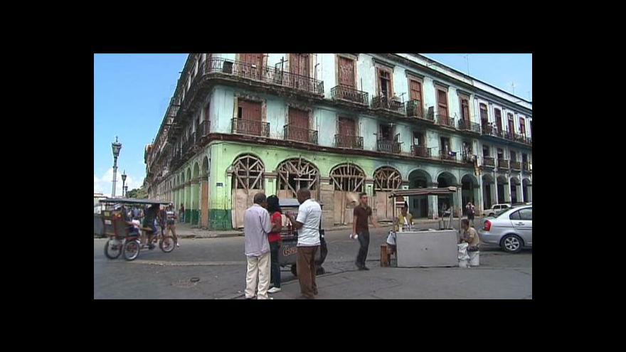 Video Kubánci budou platit nové daně