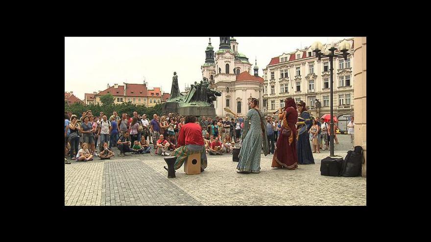 Video Reportáž P. Meškána o pouličním umění