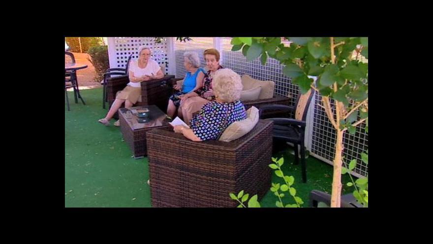 Video Španělský senior se stává živitelem rodiny