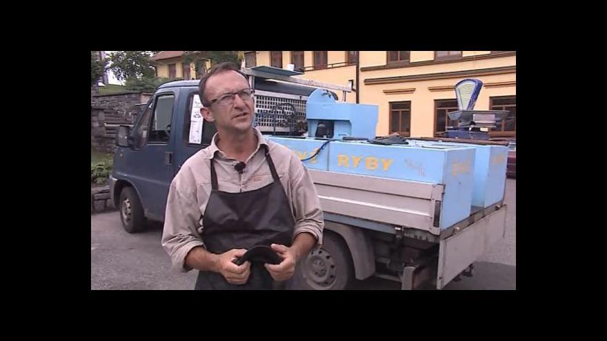 Video Hovoří majitel pojízdné rybárny Peter Dujsík