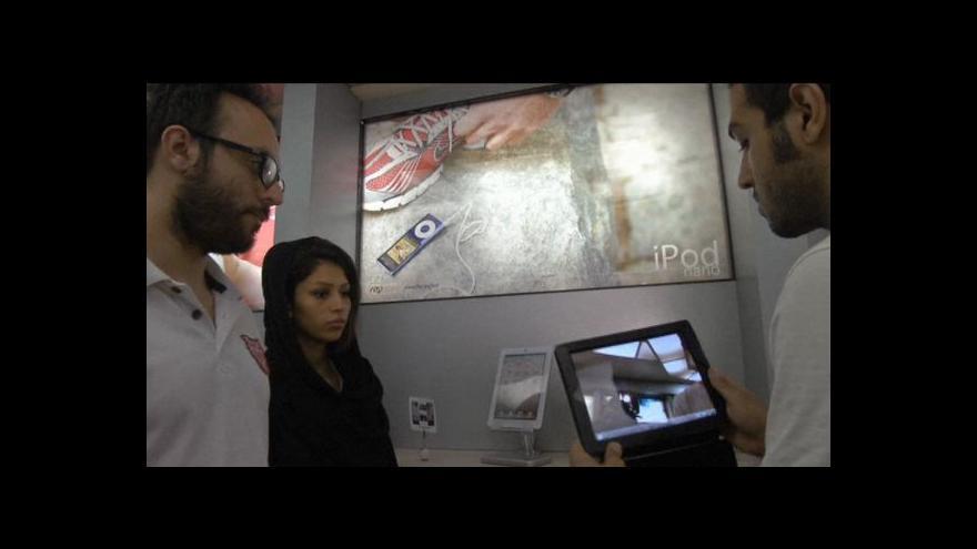 Video Apple v Íránu
