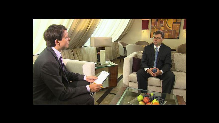 Video Rozhovor s Valdisem Dombrovskisem