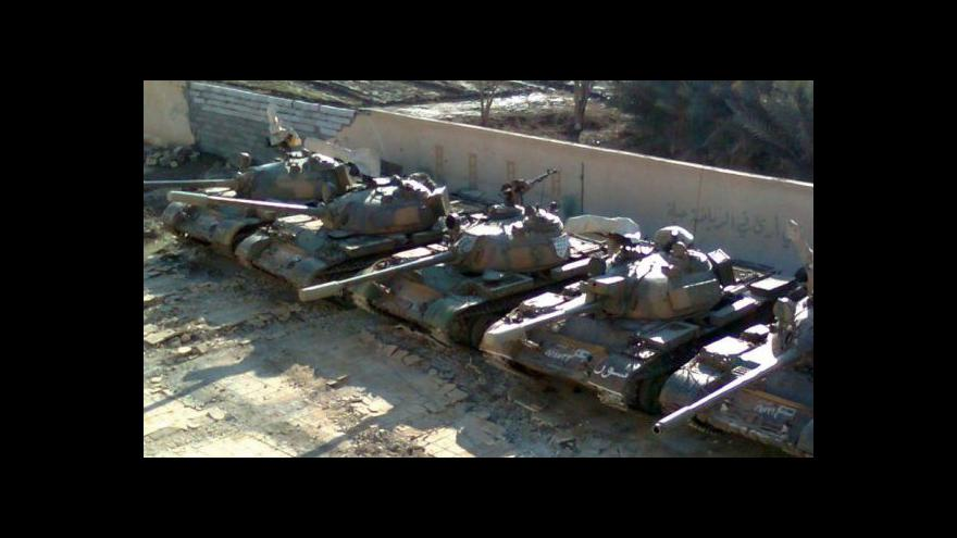 Video Pokračují boje v Sýrii (16:00)