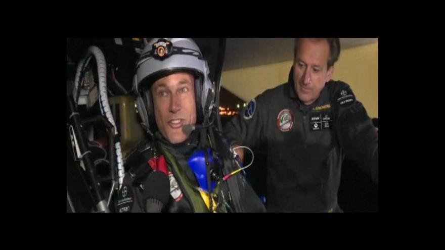 Video Solar Impulse se úspěšně vrátil domů