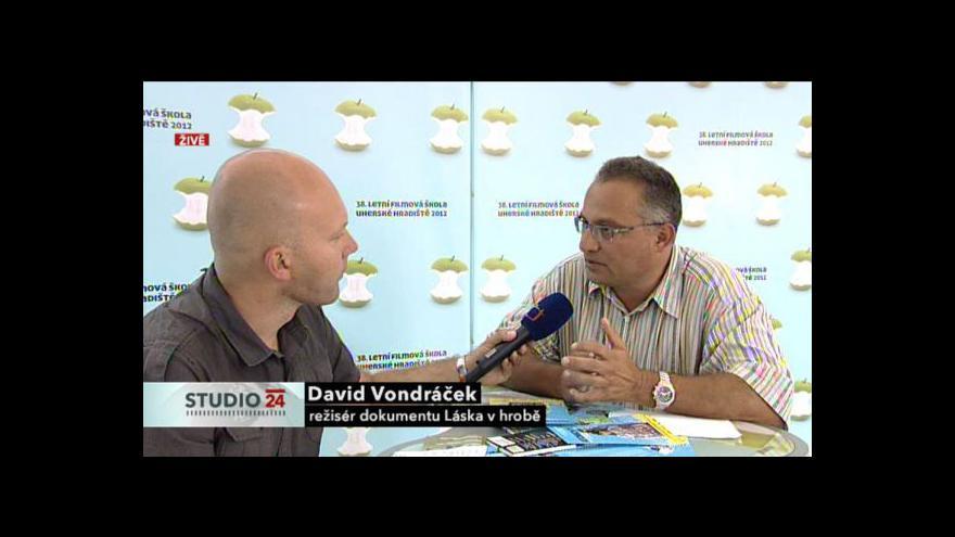 Video Rozhovor s Davidem Vondráčkem