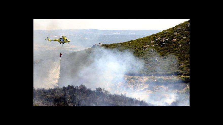 Video Ve Španělsku zuří požáry