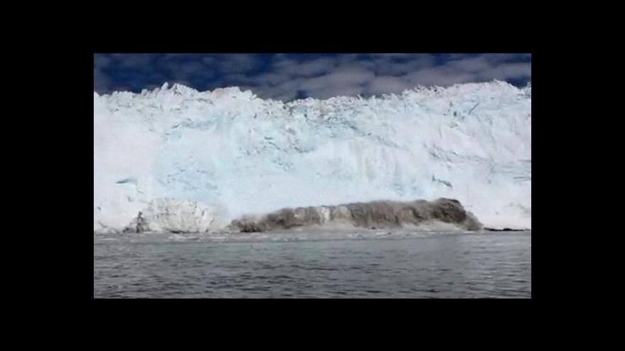 Video Ledovcová tsunami
