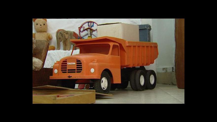 Video Reportáž V. Svobody o výstavě hraček