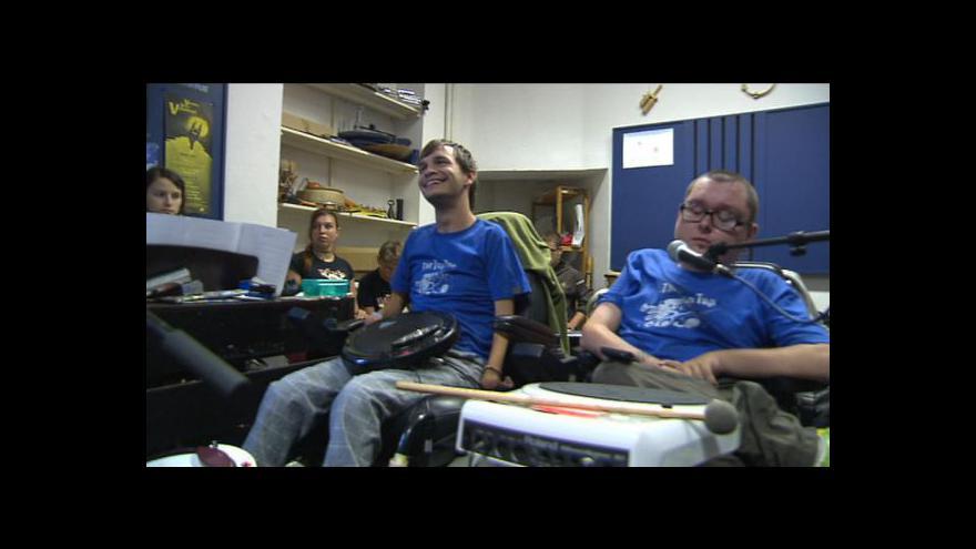 Video Reportáž P. Schubertové ze zkoušky The Tap Tap