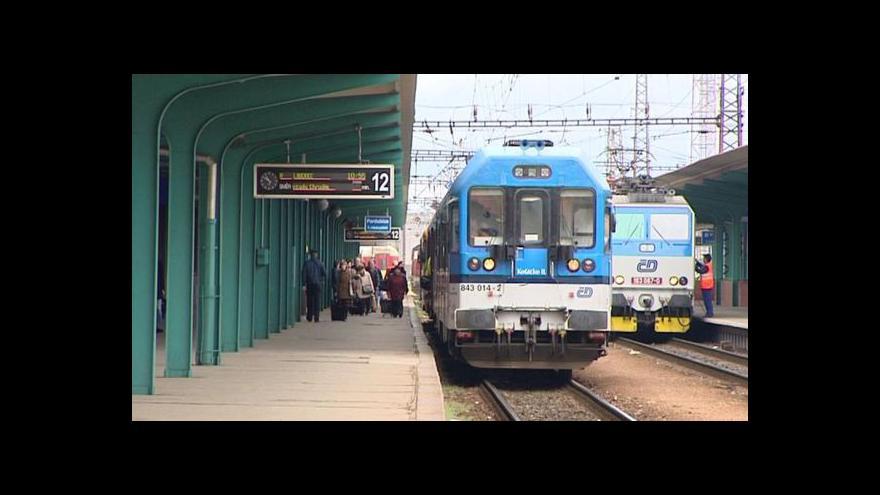 Video Vlastimil Weiner k výluce na železnici