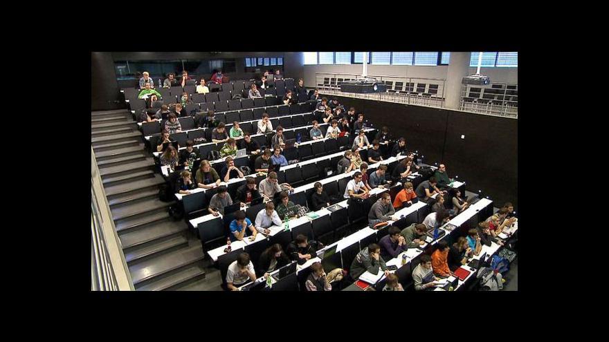 Video Volná místa na vysokých školách