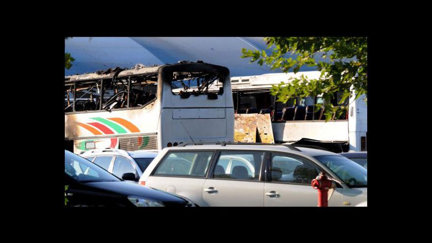 Video V Burgasu vybuchl autobus s Izraelci