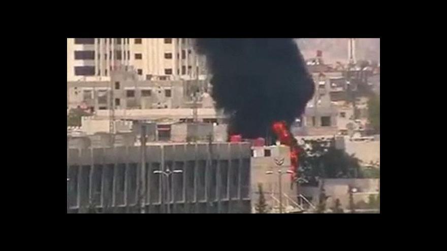 Video RB OSN bude hlasovat o rezoluci k Sýrii