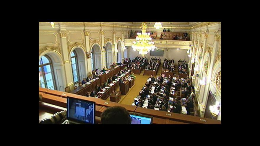 Video Čtvrté hlasování o nedůvěře vládě