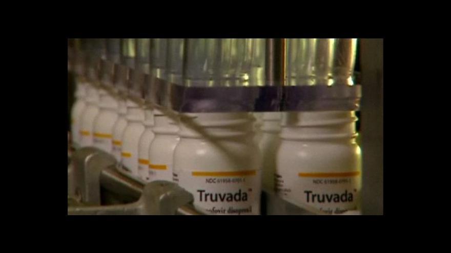 Video V USA byl schválen lék Truvada