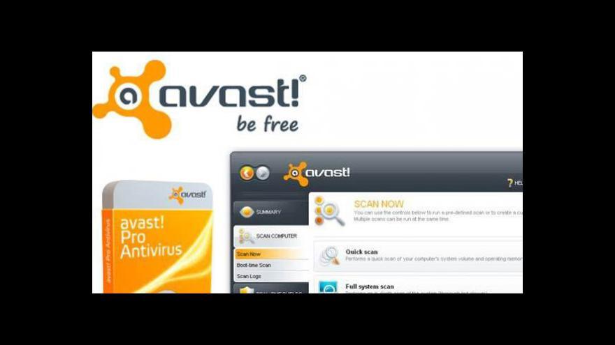 Video Avast vstupuje na americkou burzu