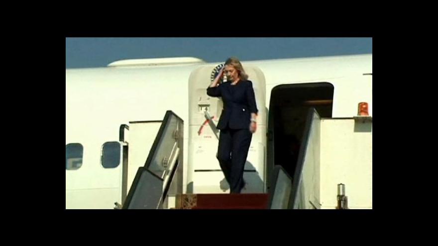 Video Clintonová v Egyptě